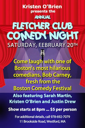 Comedy Night Fearued Image 2016
